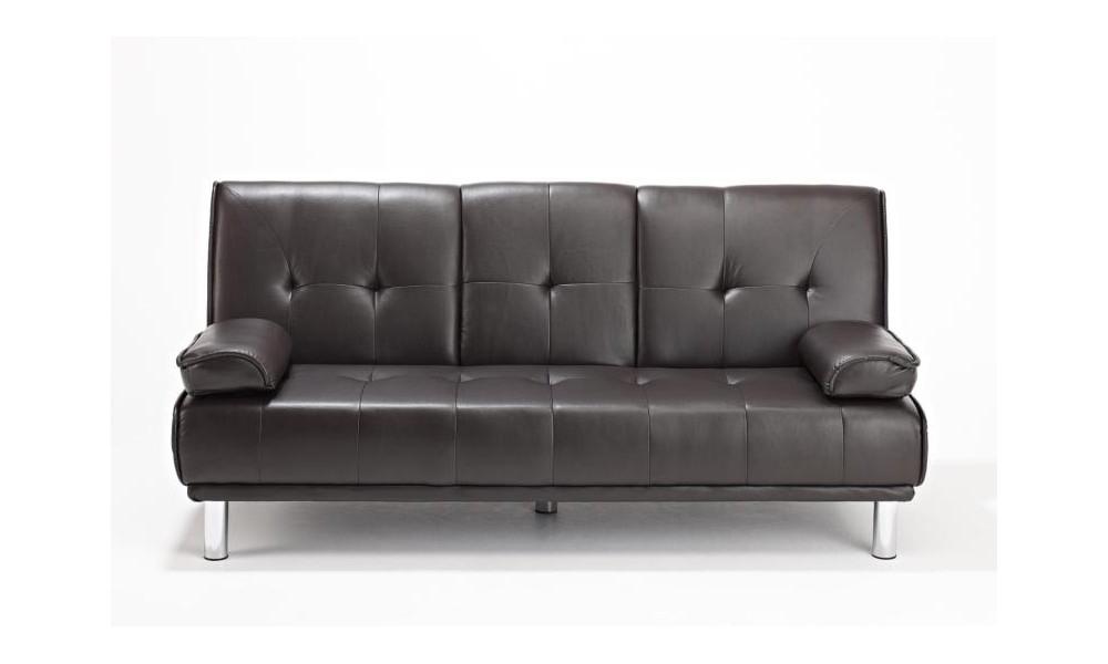 Fantastic Cinema Sofa Bed Cognac Squirreltailoven Fun Painted Chair Ideas Images Squirreltailovenorg